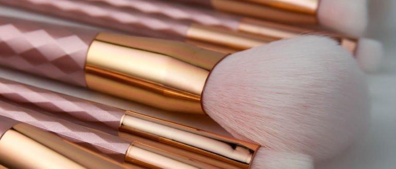 Make-up Pinselset test