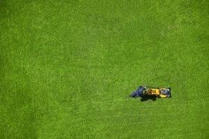 Elektro-Rasenmäher große Fläche