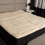 Matratzenauflage aus Wolle